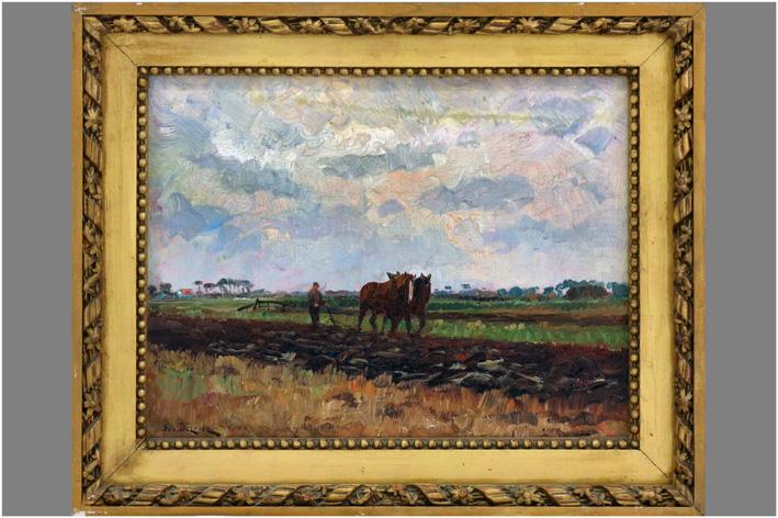 Bernier Geo - Plowing farmer-