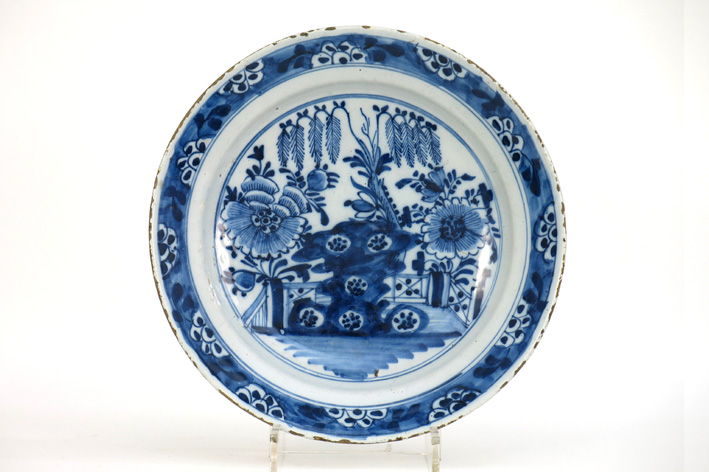 18th Cent. Dutch dish in earthenware from Delft-