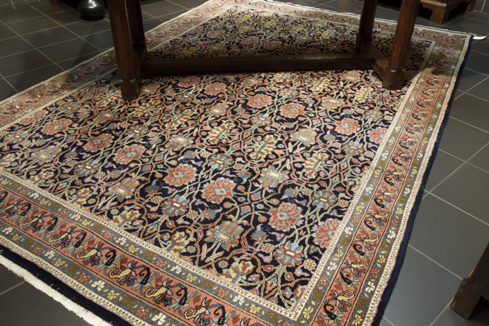 Finely knotted Persian Bidjar-