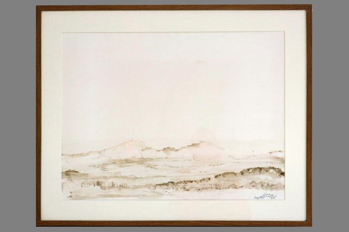 Jef Verheyen-View of Roussillon-