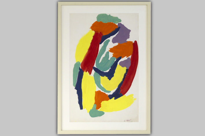 Karel Appel-Cobra composition-1959