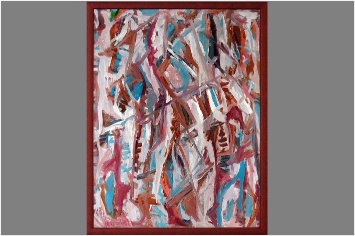 Lan-Bar David - Lyric-abstract composition-1968