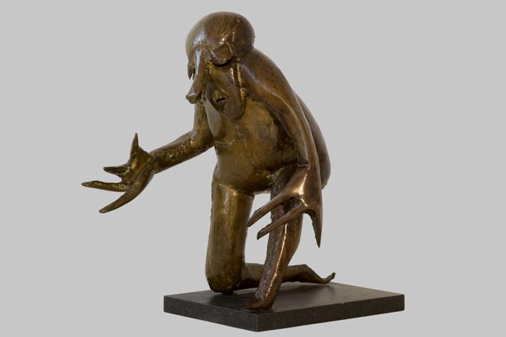 Reinhoud D'Haese-Kneaded figure-