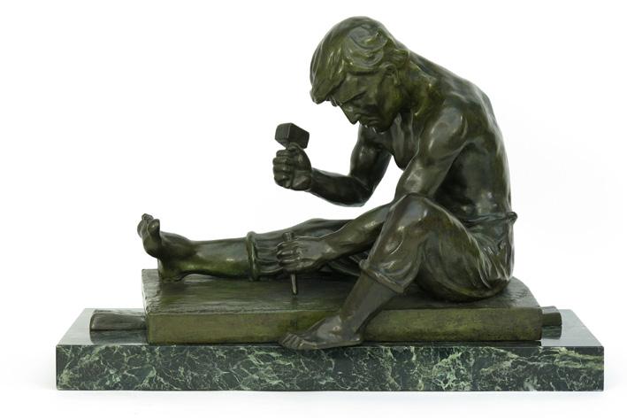 De Wandeleir R - Sitting young worker-1930