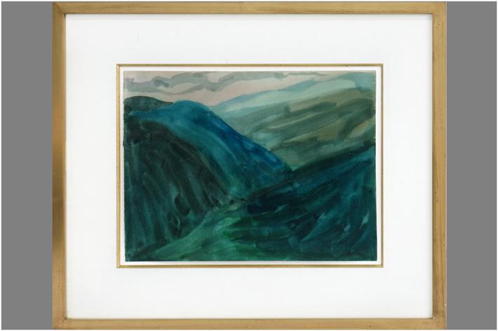 Antoine Mortier-Mountain landscape-