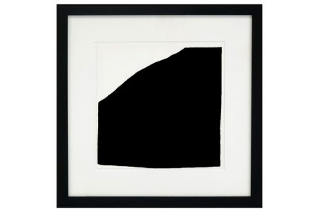 Raoul De Keyser-Composition in black and white-1987