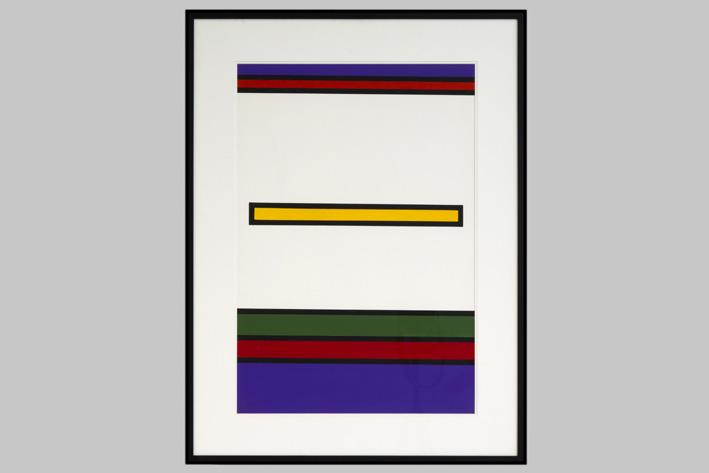 Guy Vandenbranden-Geometric-Abstract Composition-