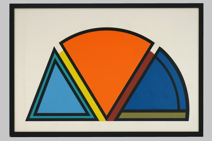 Guy Vandenbranden-Geometric-Abstract Composition-1983