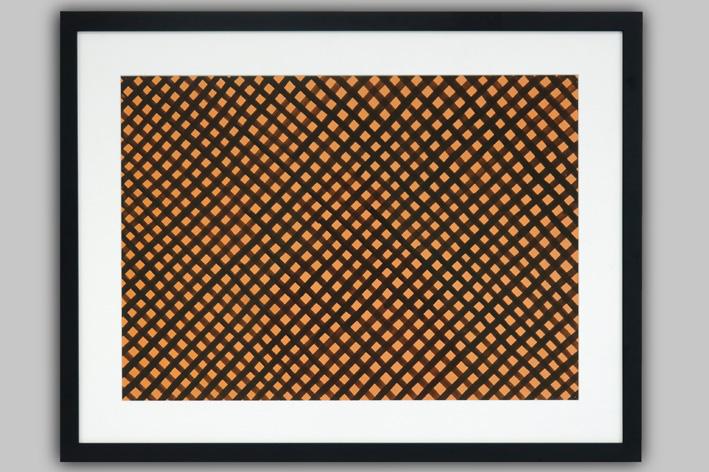 Heyvaert Rene - Separate composition with raster shape-1974