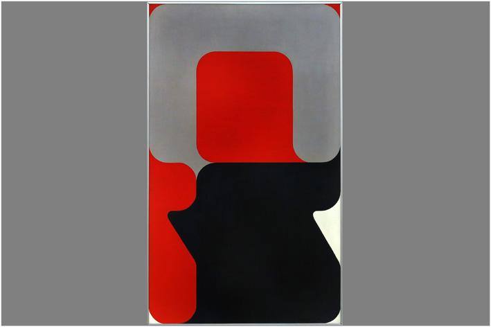 Goffin Andre - Pig-bleu-rouge no. 3-1972