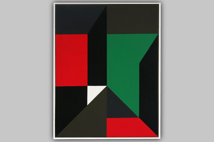 Goffin Andre - Geometric-abstract composition-1987