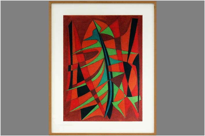 Van Den Borre Guillaume - Abstract composition-1979