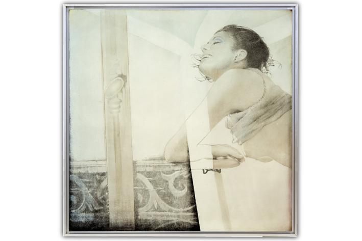 Pol Mara-Repasser sur une balustrade-1977