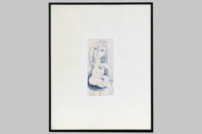 Vermeersch Rik - Sitting naked-1991