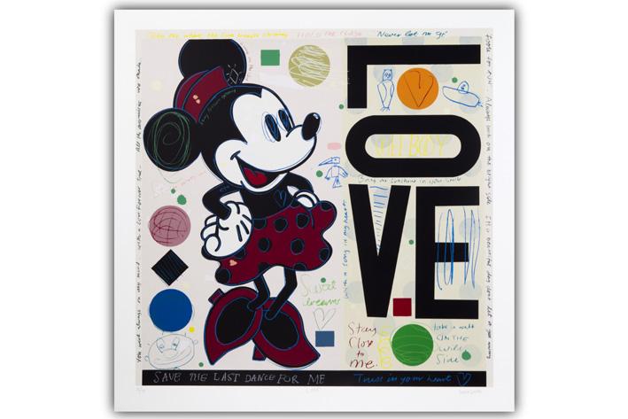 David Spiller-Minnie Mouse-Love-