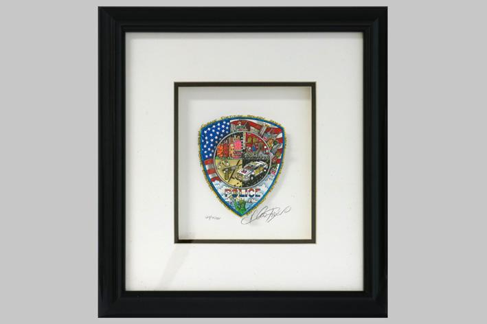 Charles Fazzino-Police-