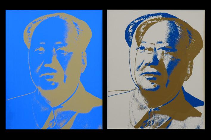 Andy Warhol-Mao-