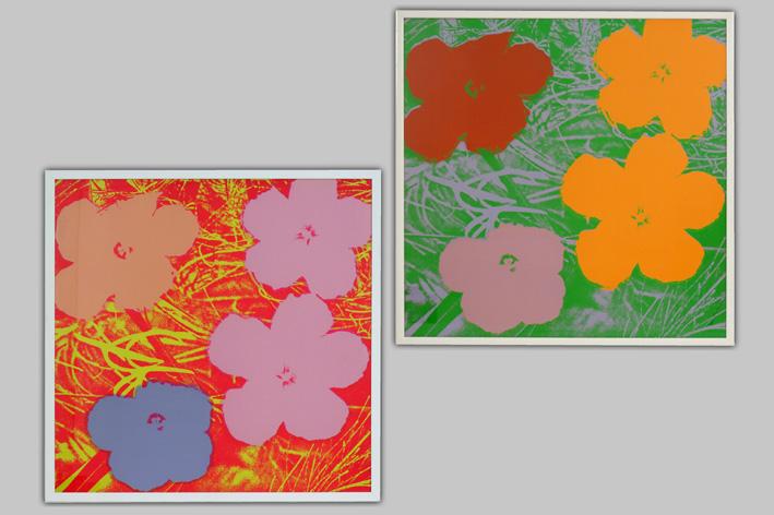 Andy Warhol-Flowers-