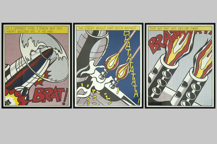 Roy Lichtenstein-As I opened fire ...-