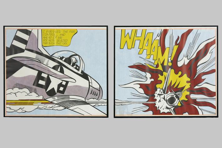 Roy Lichtenstein-Whaam-