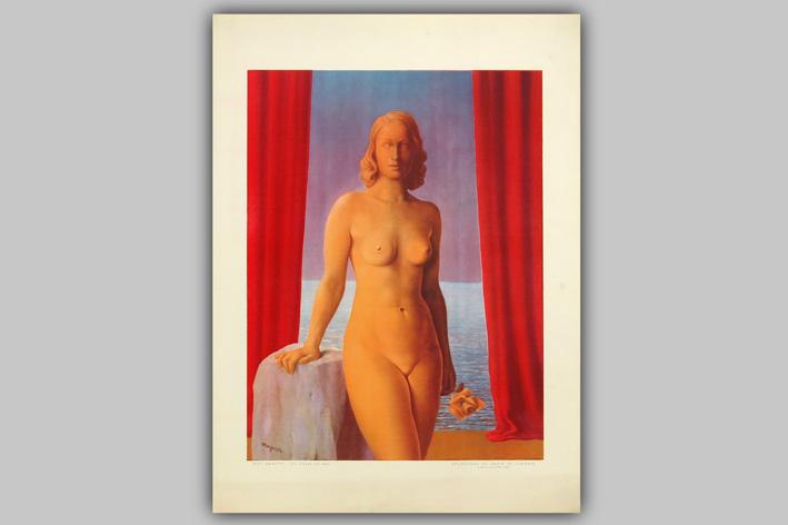 Rene Magritte-Les Fleurs du Mal-