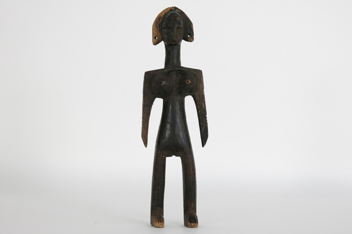 African sculpture in wood-
