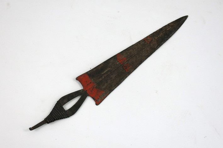 Old African knife-