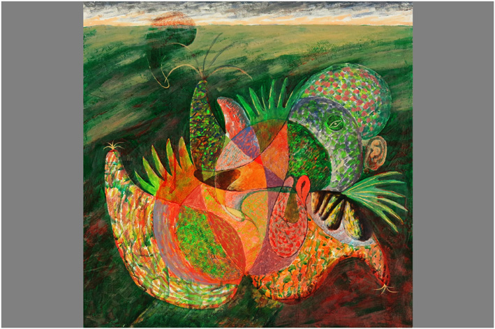 Privouchine Youri - Colorful composition-1992