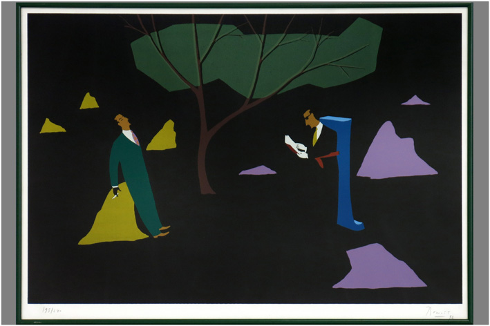 Benoit - Composition with two men-1992