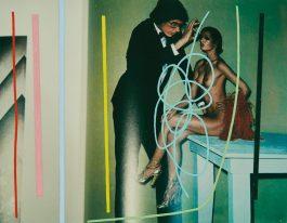 Richard Pettibone-Helmut Newton, Giant And Nude, Paris, 1974-1979