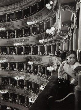 Alfred Eisenstaedt-La Scala, Milan-1933