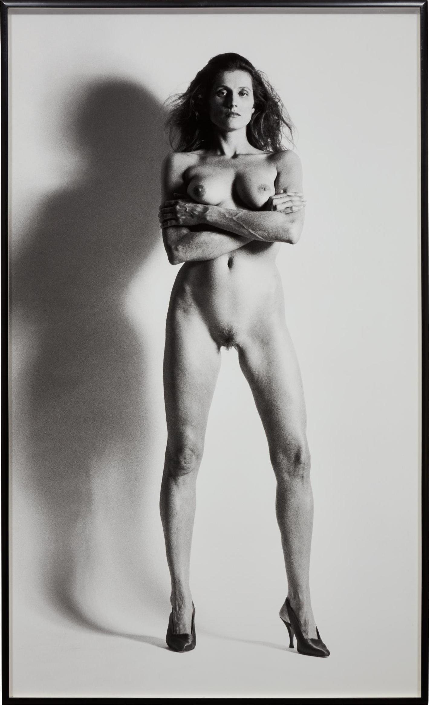Helmut Newton-Big Nude VII, Nancy La Scala, Monte-Carlo-1990