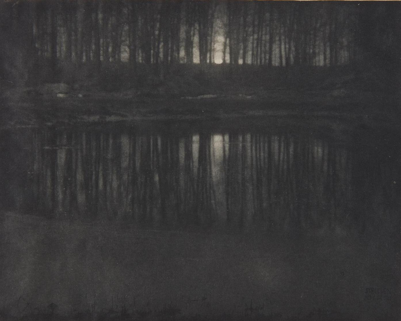 Edward Steichen-Moonlight: The Pond-1904