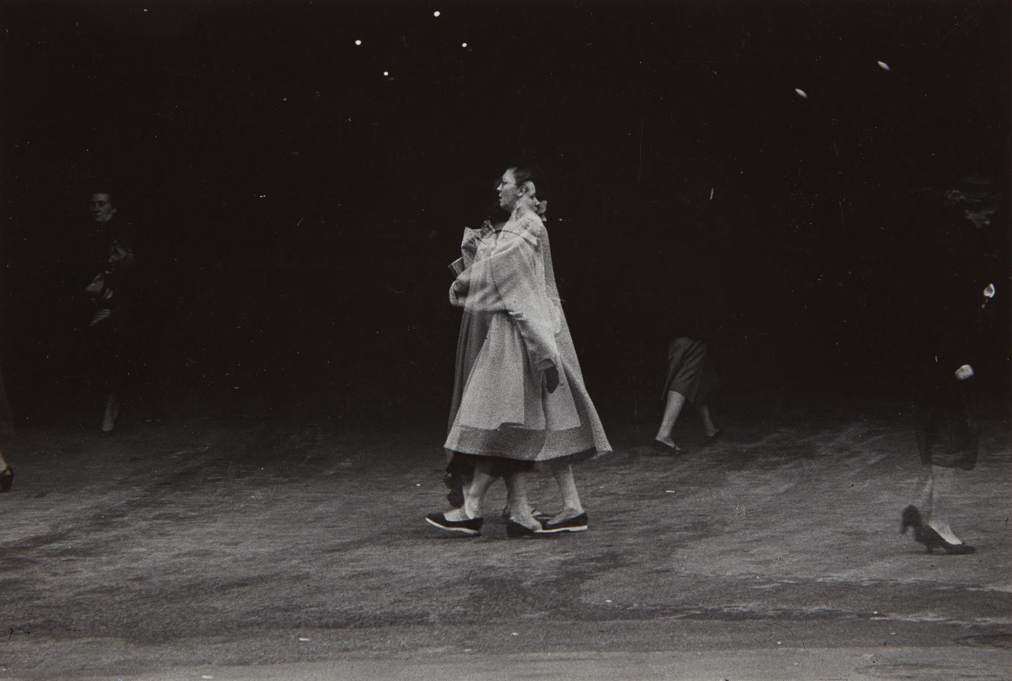 Harry Callahan-Chicago (Multiple Exposure Of Women Walking)-1955