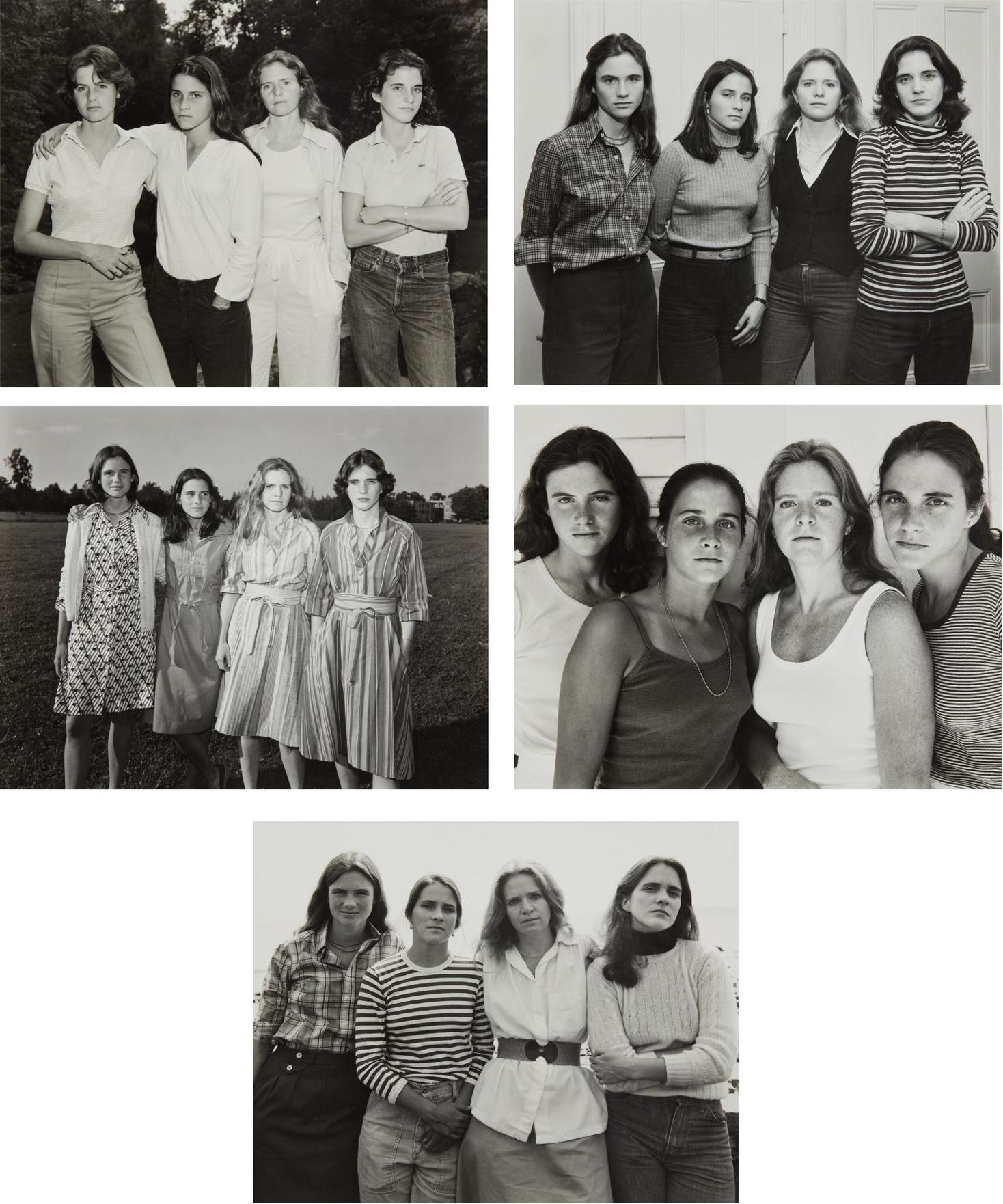 Nicholas Nixon-Selected Images Of The Brown Sisters-1979