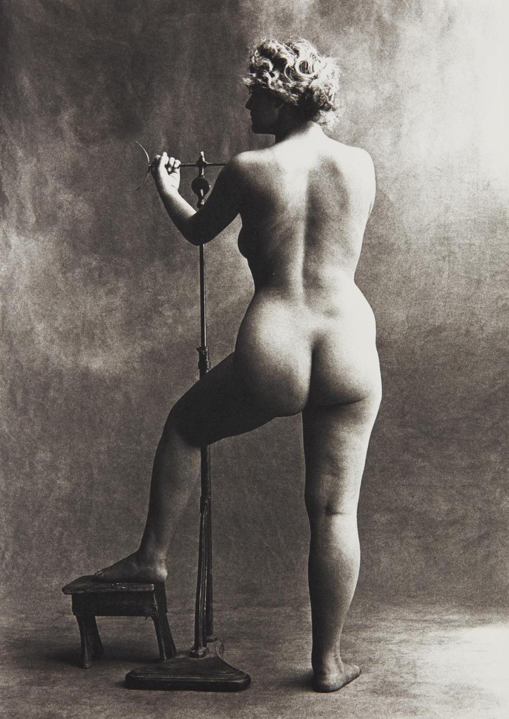 Irving Penn-Sculptors Model, Paris-1950