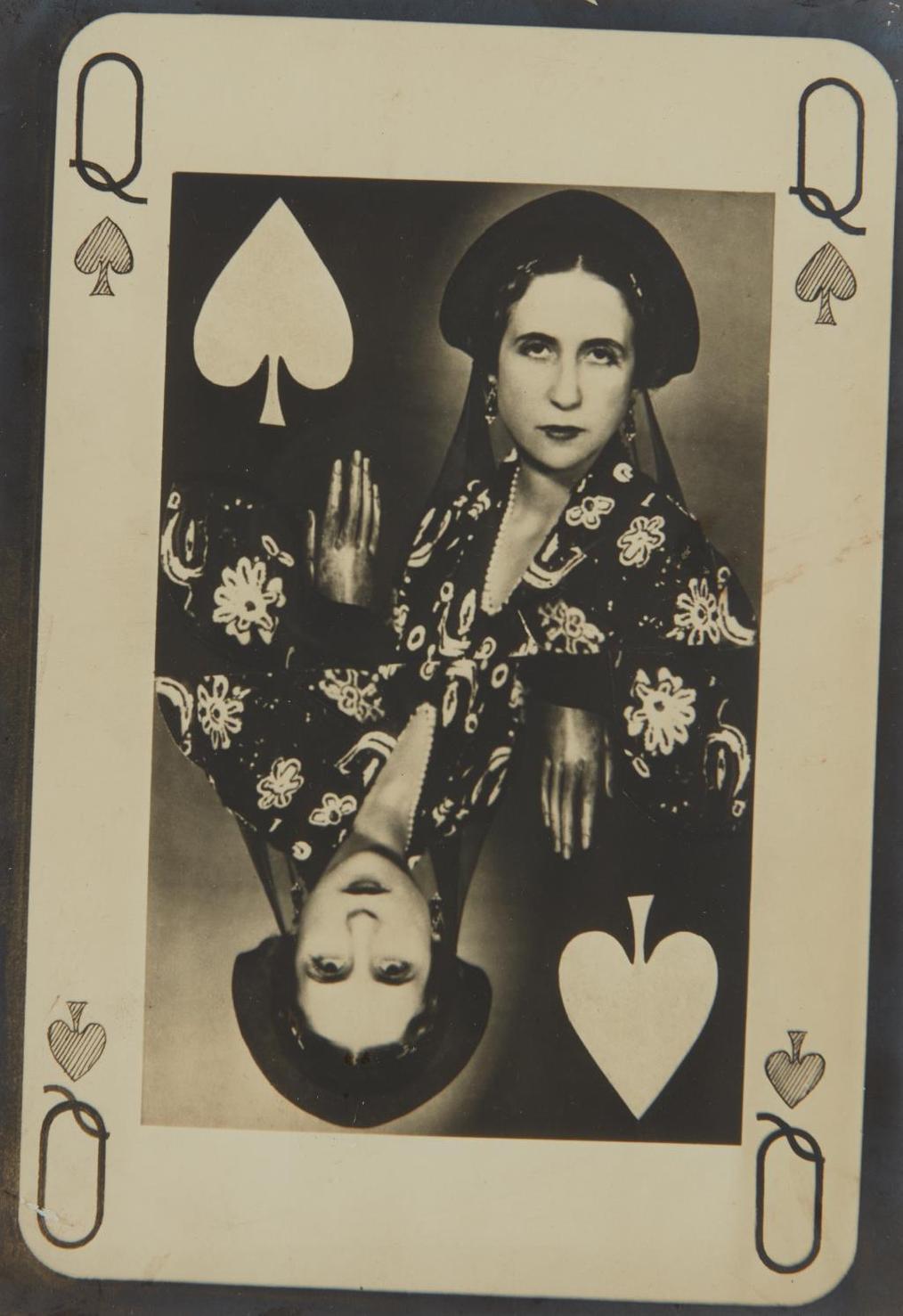 Man Ray-Lise Deharme En La Dame De Pique-1935