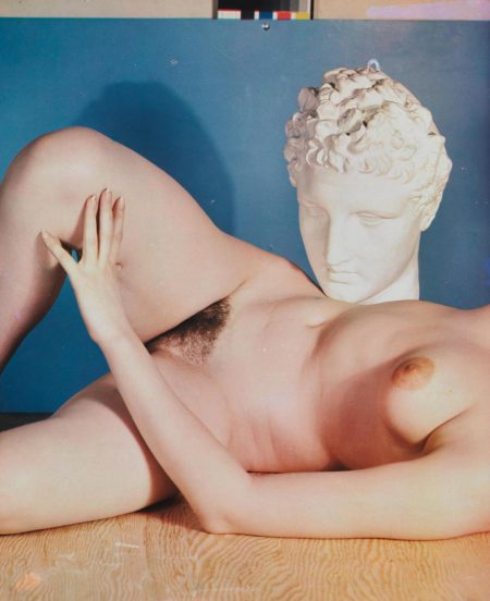 Paul Outerbridge-Nude With Head Sculpture-1937