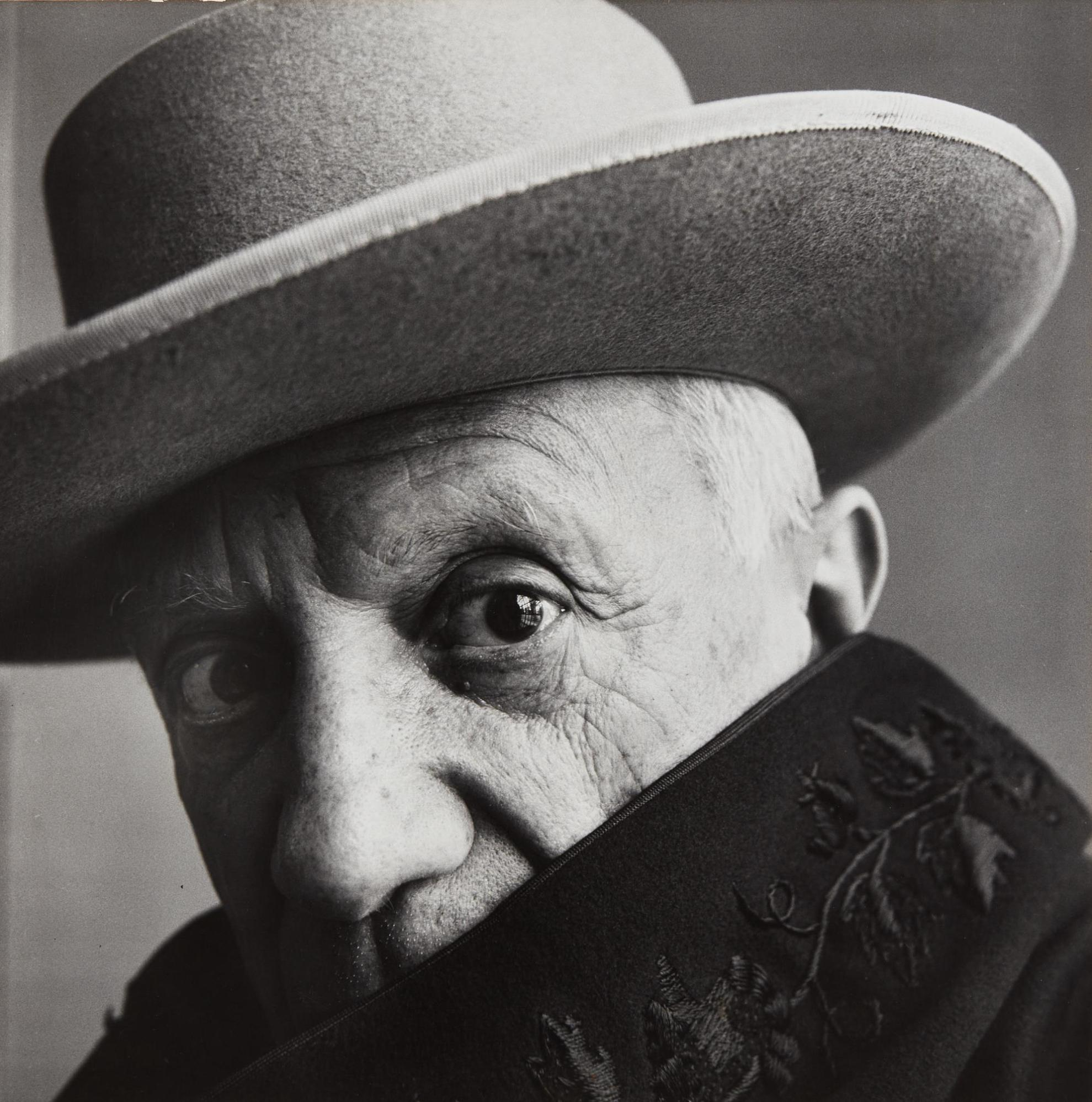 Irving Penn-Pablo Picasso At La Californie, Cannes, France-1957