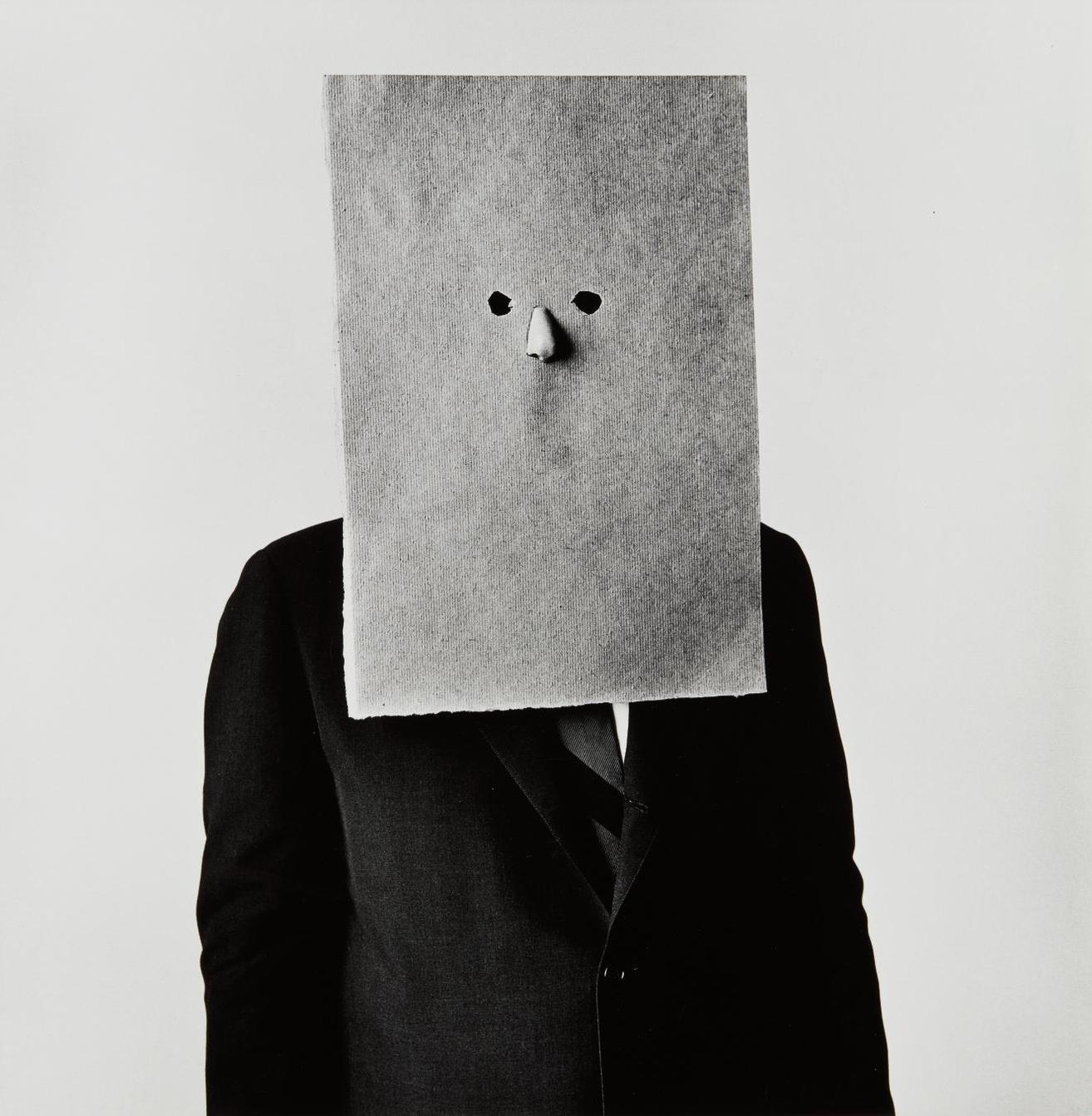 Irving Penn-Steinberg In Nose Mask, New York-1966