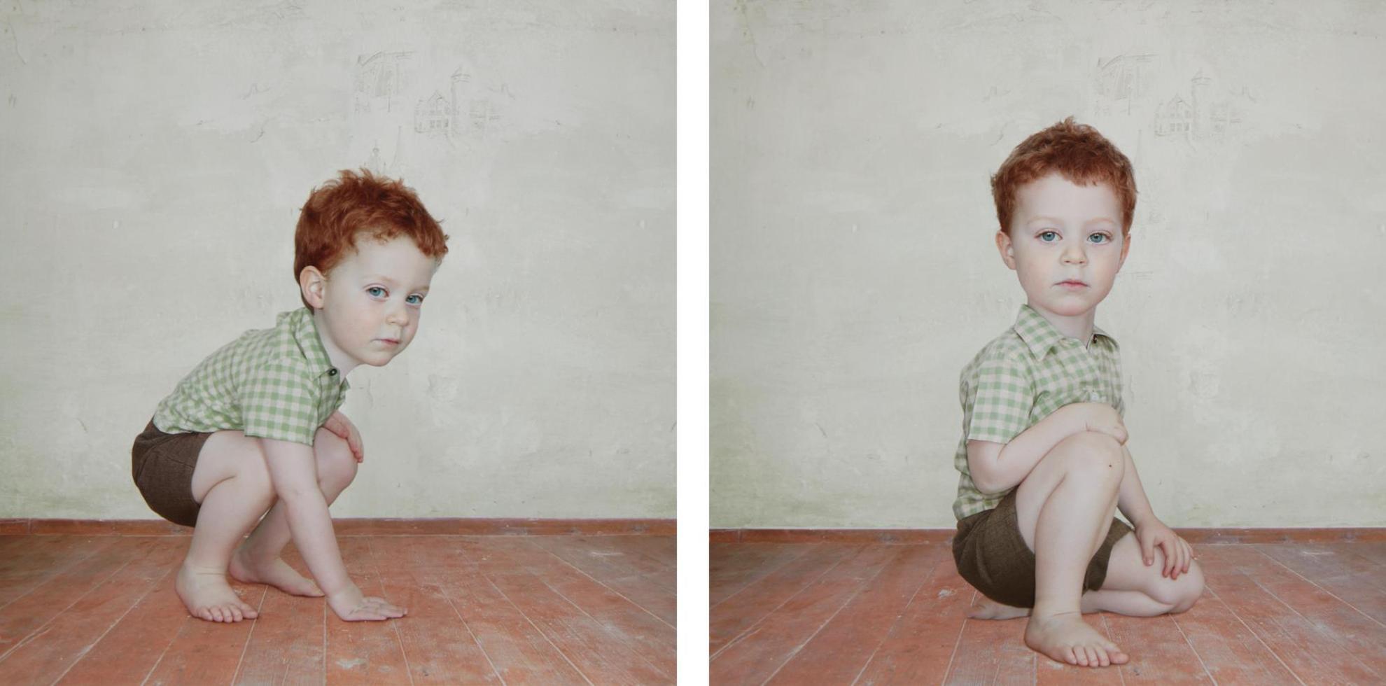 Loretta Lux-Study Of Boy 1 And Study Of Boy 2-2002