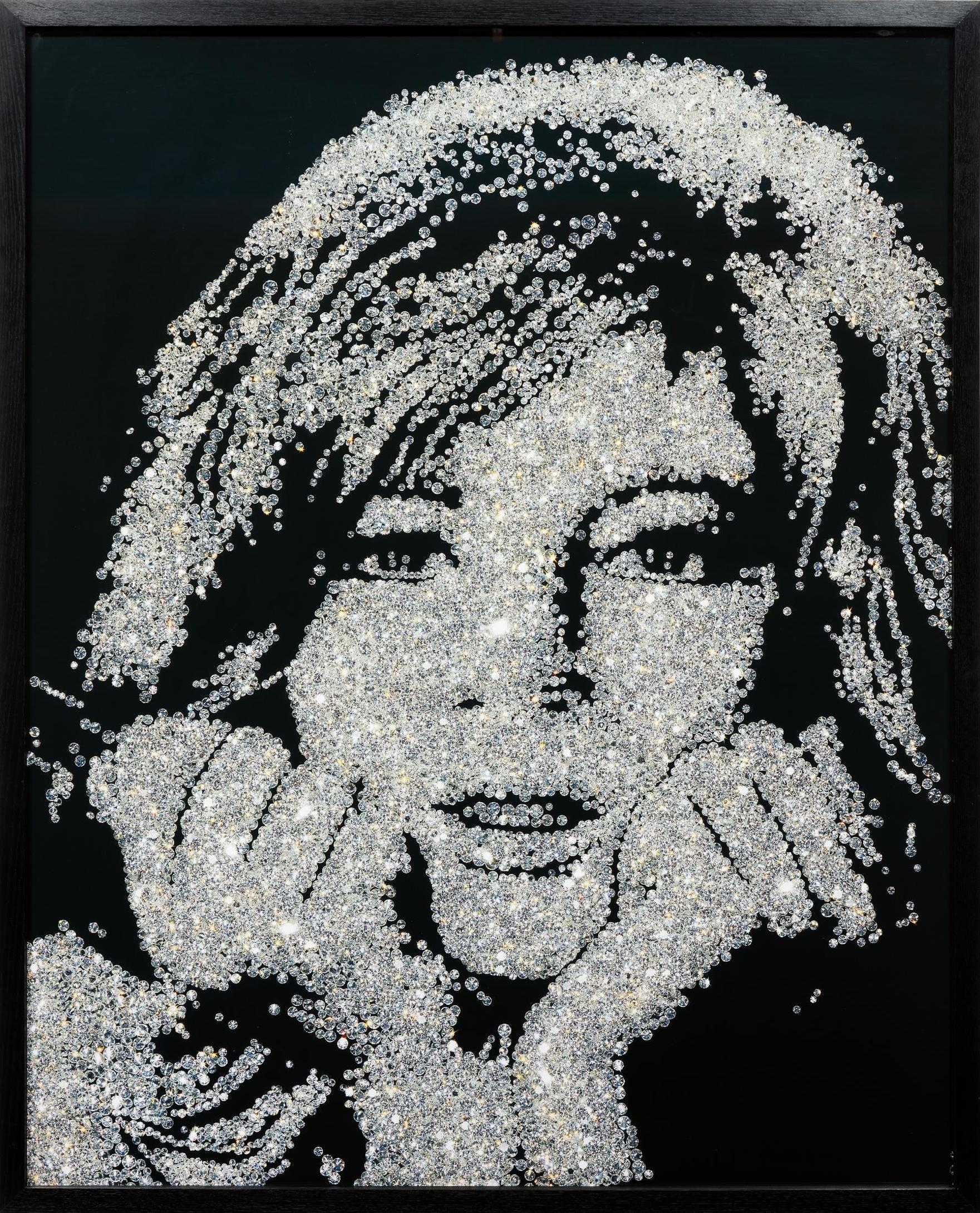 Vik Muniz-Monica Vitti From Pictures Of Diamonds-2004