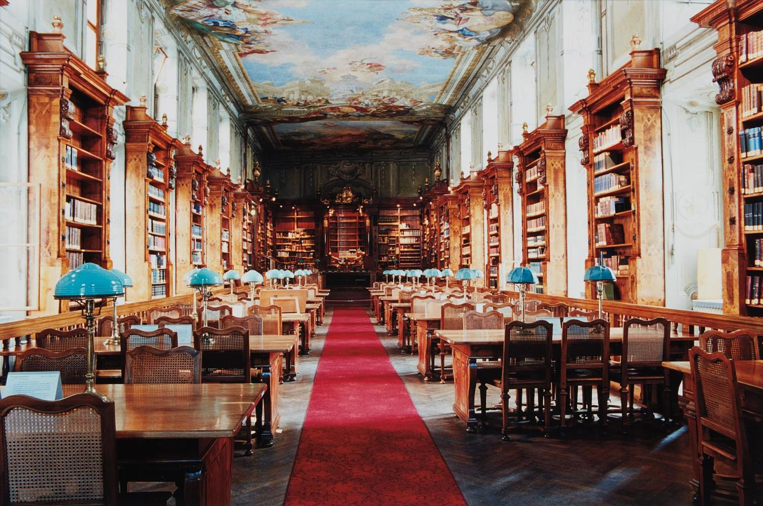 Candida Hofer-Nationalbibliothek Wien I-1995