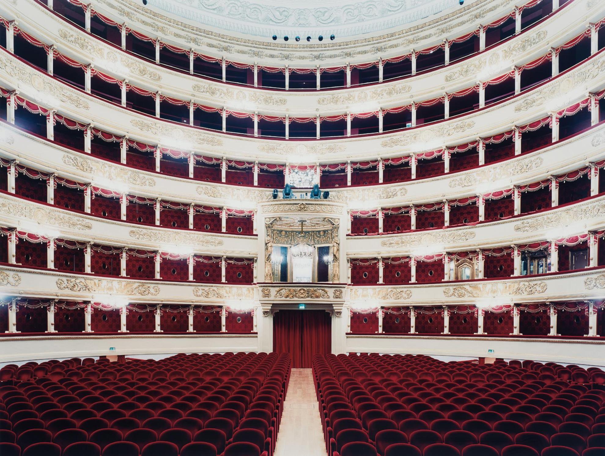 Candida Hofer-Teatro Alla Scala Milano II-2005