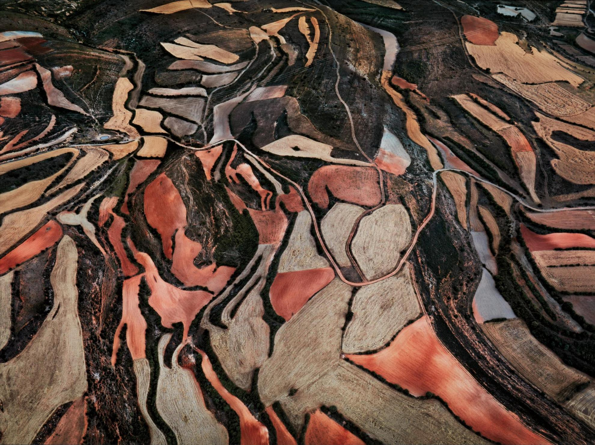 Edward Burtynsky-Dryland Farming #24, Monegros County, Aragon, Spain-2010