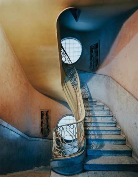 Michael Eastman-Deco Stairwell, Havana-2010