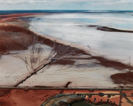 Edward Burtynsky-Silver Lake Operations #12, Lake Lefroy, Western Australia-2007