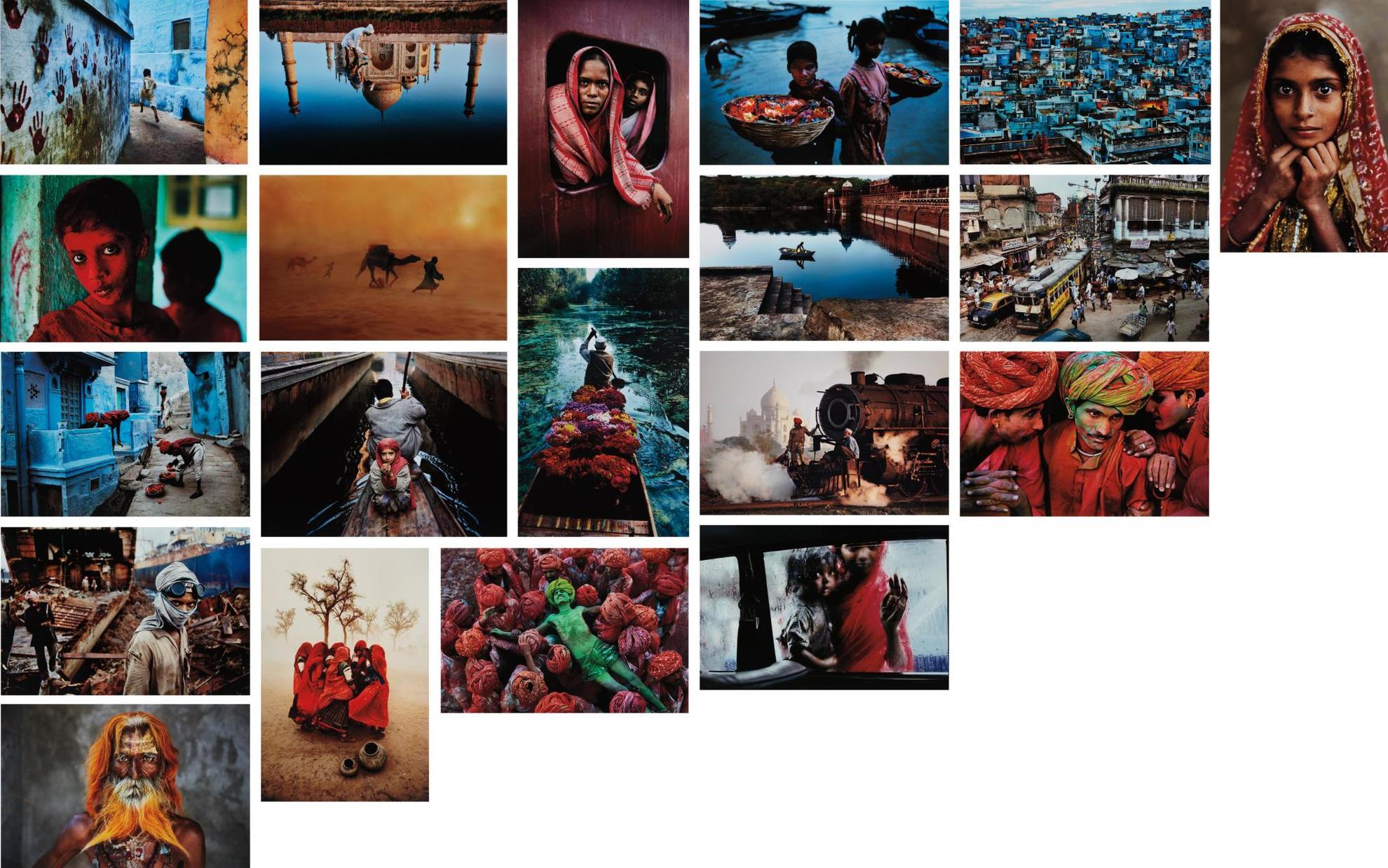 Steve McCurry-India-