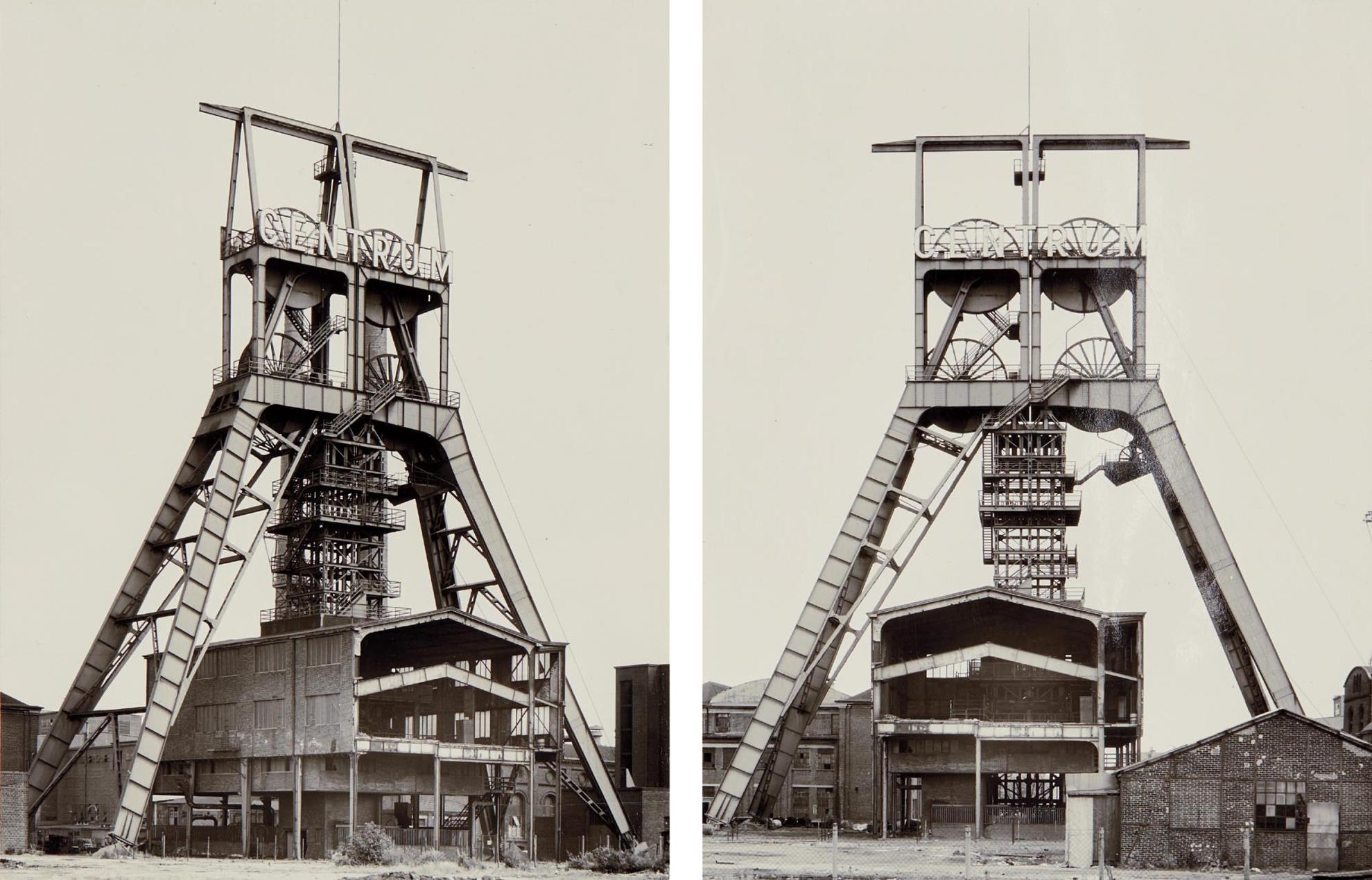 Bernd and Hilla Becher-Winding Towers-1972