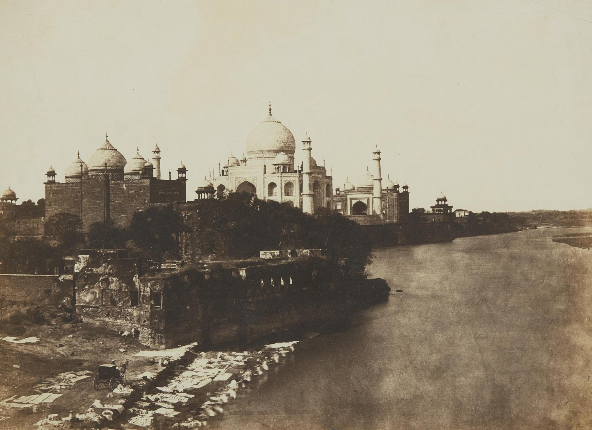 John Murray-Pavillion And Mosque Attached To The Taj-1857